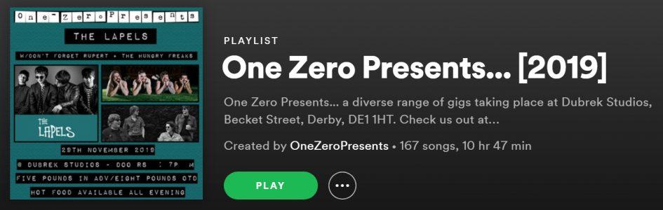 One Zero Presents... [2019]